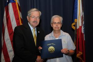 Sister Michelle Balek Receives Governor's Award