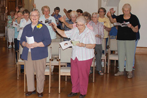 Liturgy Director Retires After 35 Years