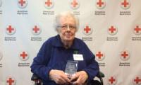 "Red Cross Recognizes Sister Martha Luedtke as ""Everyday Hero"""