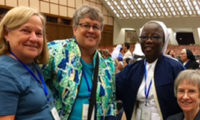 Sister Kate Attends UISG Meeting, Papal Audience in Rome