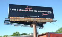 Dubuque Franciscans Join Area Sisters to Launch Refugee Billboard Campaign
