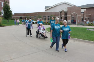 Sisters Host Walk For Sister Water Project At Mount St. Francis