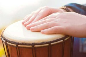 Canticle Of Creation Center Hosts Summer Solstice Drum Circle
