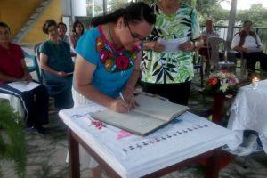 Dubuque Franciscans Receive New Novice In Honduras
