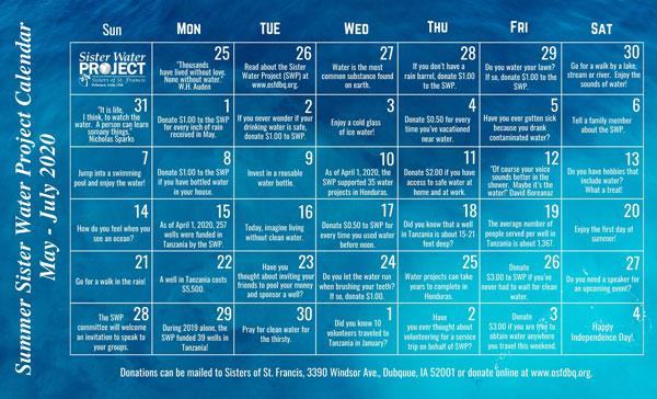 SWP Calendar