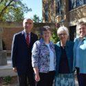 Briar Cliff Dedicates Sisters Of St. Francis Prayer Garden