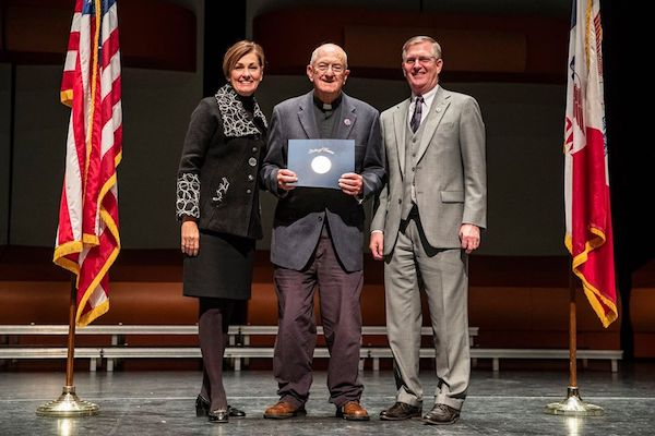 DBQ Franciscan Associate Honored With Governor's Award