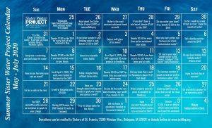 Summer 2020 SWP Calendar