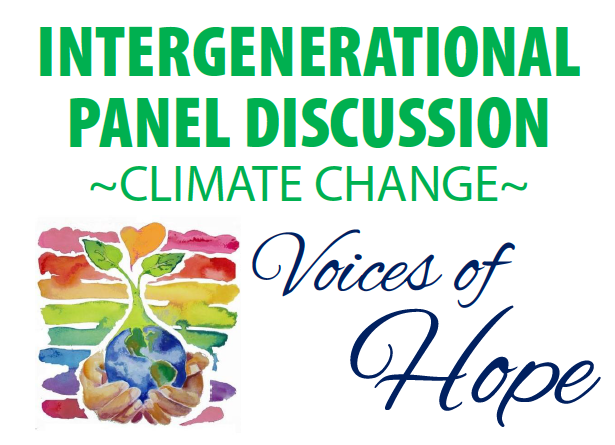 Sisters Sponsor Virtual Panel Discussion On Climate Change