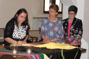 Sister Katy Orellana Professes First Vows