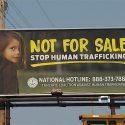 Bus Wrap, Billboard Target Human Trafficking